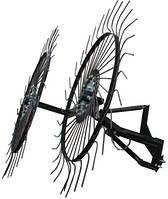 Грабли ворошилки-солнышко большие на 2 колеса 1,2м Премиум