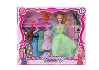 Кукла  з одягом та аксесуарами (коробка) yx031А р.38*33*5,5 см