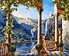 Раскраски по номерам 40×50 см. Девушка у водопада Художник Михаил Сатаров
