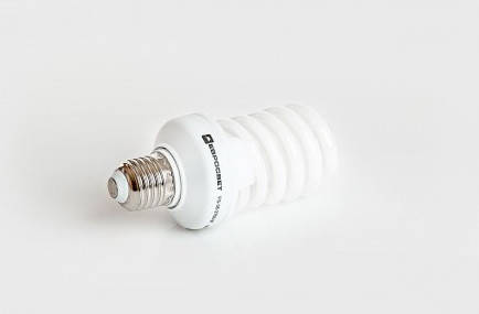 Люминесцентная бытовая лампа (КЛЛ) 36Вт 4200К  Е27