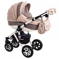 Детская коляска универсальная 2 в 1 Adamex Barletta 648K (Адамекс Барлетта)