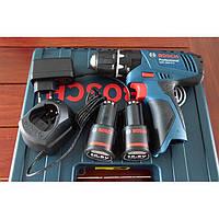 Аккумуляторная дрель-шуруповерт Bosch GSB 1080-2-LI (+удар) 100 % Оригинал, фото 1