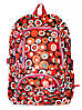 Рюкзак подростковый горох красный, рюкзак для школы, рюкзаки недорого