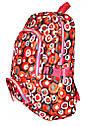 Рюкзак подростковый горох красный, рюкзак для школы, рюкзаки недорого, фото 2