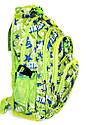 Рюкзак подростковый (школьный) 11 JM1967 звезды салатовый, рюкзак для школы, рюкзак недорого, дропшиппинг , фото 2