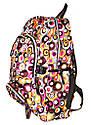 Рюкзак подростковый горох коричневый, рюкзак для школы, рюкзаки недорого, фото 2