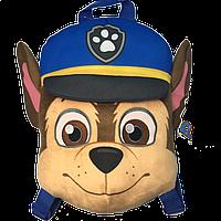 Детский рюкзак плюшевый Paw Patrol Щенячий патруль Гонщик (PT1602004)