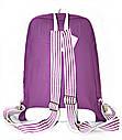 Рюкзак городской Лакоста сиреневый, кожаный рюкзак, рюкзак кожзам, рюкзак женский, рюкзаки оптом, дропшиппинг , фото 3