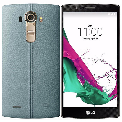 LG H815 G4 (Genuine Leather Sky Blue)