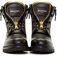 Ботинки - Берцы Balmain все размеры 34-42р.! Кожа Люкс!