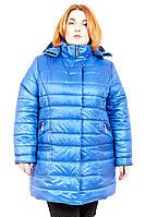 Зимняя куртка женская большого размера Веста, куртки для полных, женская верхняя одежда больших размеров,
