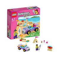 Конструктор лего джуниур Lego Juniors Поездка на пляж 10677