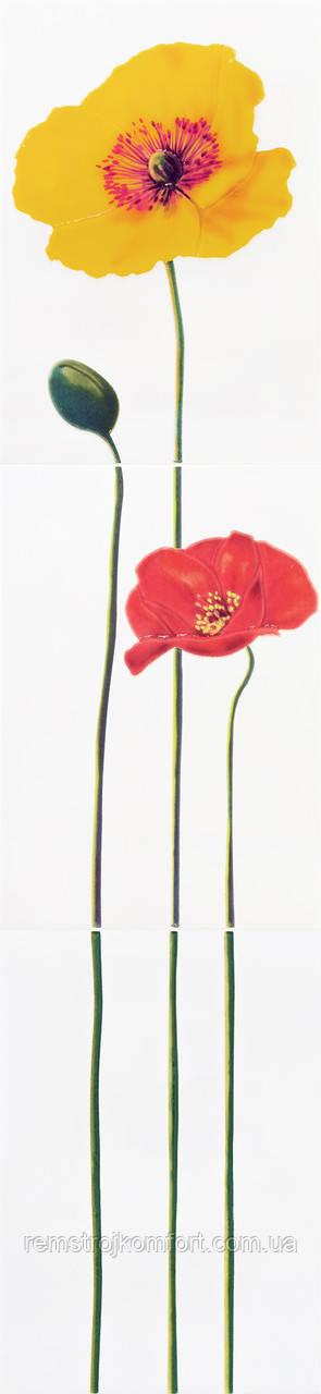Декор-пано Атем Monocolor Poppy R 275x1200