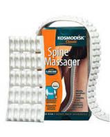 Массажер Космодиск 2: лента 66х4 см для спины, сегмент 10х4 для шеи и суставов, мягкий материал