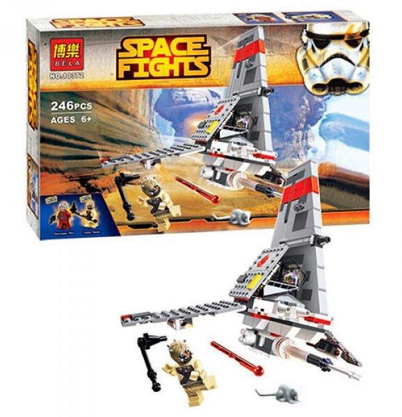 Конструктор  Space Fights 10372 (246 детал.)   Star Wars