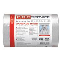 PRO service пакеты для мусора, 20 л, 30 шт., белые