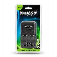 Сетевое зарядное устройство MastAK MZ-860 Для ААА; АА (Ni- Zn!)
