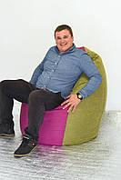 Бескаркасное кресло пуф груша