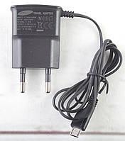 Зарядка от сети для micro-USB устройств Samsung V8, 5V-0,7A