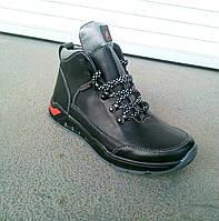 Мужские кожаные зимние ботинки Ессо  40-45 р-р, фото 1