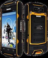 Противоударный смартфон DISCOVERY V8,экран 4 дюйма IPS,2 сим,камера 5 Мп.