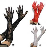 Сексуальные перчатки белые