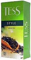 """Чай зеленый Tess """"Стаіл"""" 1.5г*25п."""