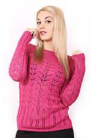 Женский легкий свитерок 1342 Розовый
