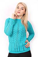 Женский легкий свитерок 1342 Голубой