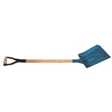 Лопата для угля с черенком, Juco (70-834)