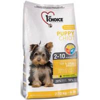 1st Choice (Фест Чойс) PUPPY TOY & SMALL Breeds - корм для щенков миниатюрных и малых пород (курица), 0.35кг