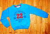 Детская теплая кофта для мальчика Sport22 синяя 7/8 лет