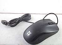 Оптическая мышь DEFENDER Optimum MB-160 USB (black),1000 dpi, 3 button