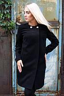 Женское демисезонное пальто Сабина прямое Размеры 42-50