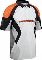 Тениска Moose S12 PIT серый оранжевый L