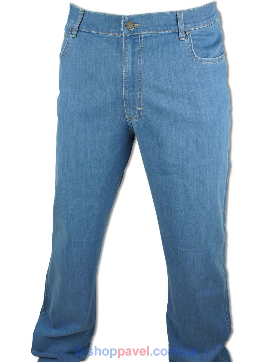Синие мужские джинсы Lexus 615 P/6997 в большом размере
