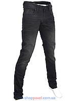 Стильные мужские джинсы X-Foot 261-2271 в черном цвете
