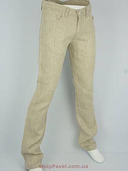 Мужские льняные джинсы Colt 1584 L-463