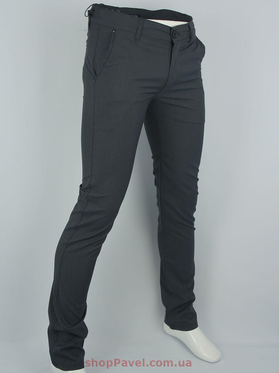 Мужские джинсы Cen-cor CNC-9062 темно-серого цвета