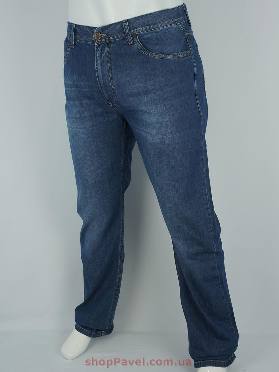 Стильные мужские джинсы Cen-cor CNC-1227-BT в большом размере