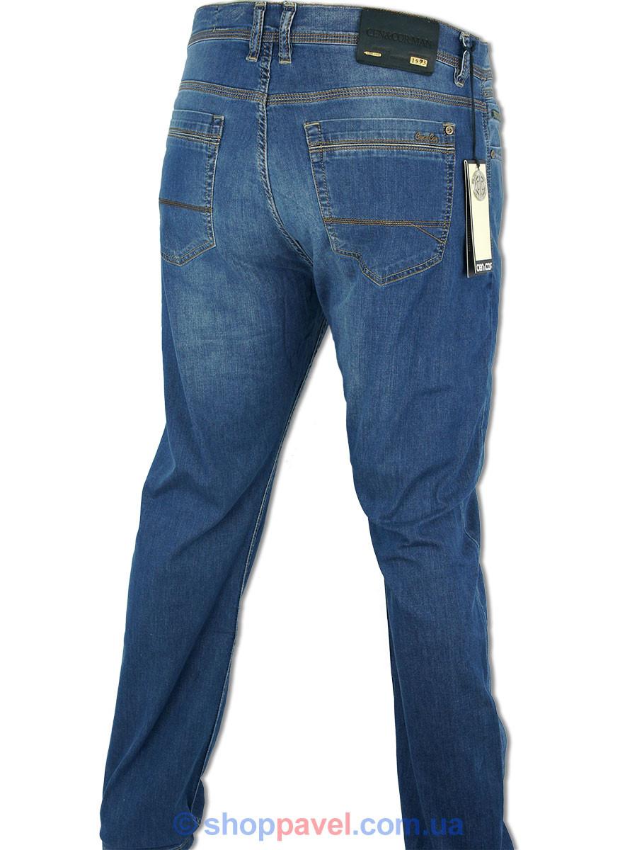 Классические мужские джинсы Cen-cor CNC-1238-BT большого размера