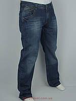 Темно-синие мужские джинсы X-Foot 140-1528 большого размера