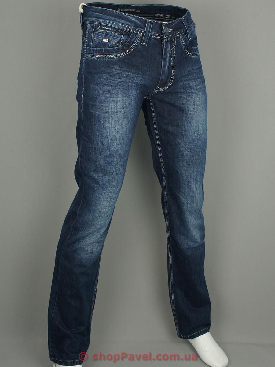 Мужские джинсы Cen-cor CNC-1186 с потертостями