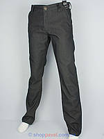 Мужские зимние джинсы Differ E-1770 SP.865-11 в сером цвете