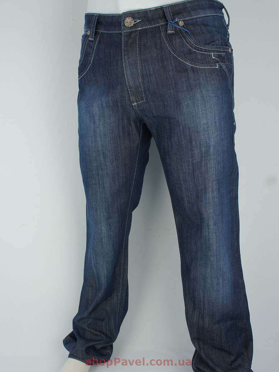 Чоловічі стильні джинси Differ E-1725 SP.902-11 на флісі