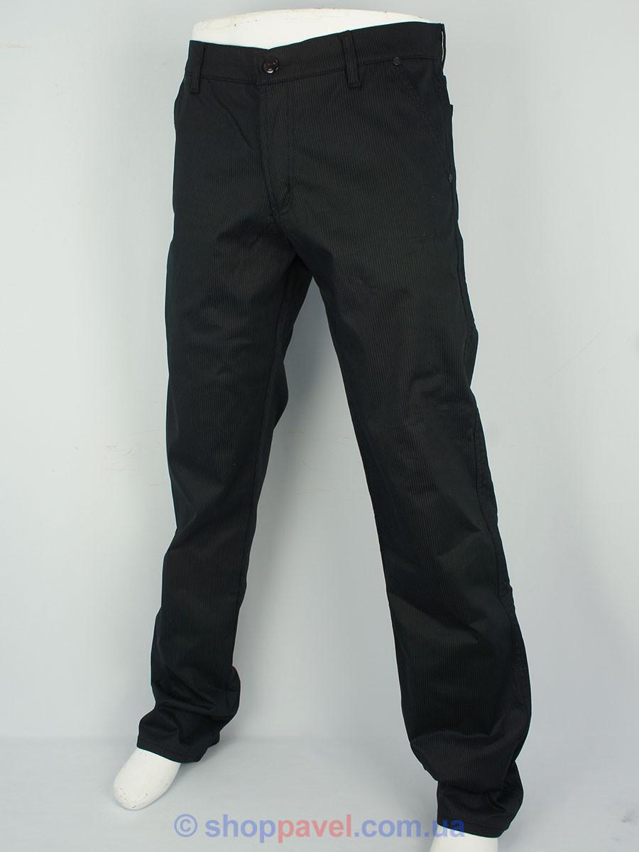 Чоловічі чорні джинси X-Foot 160-1705 на флісі