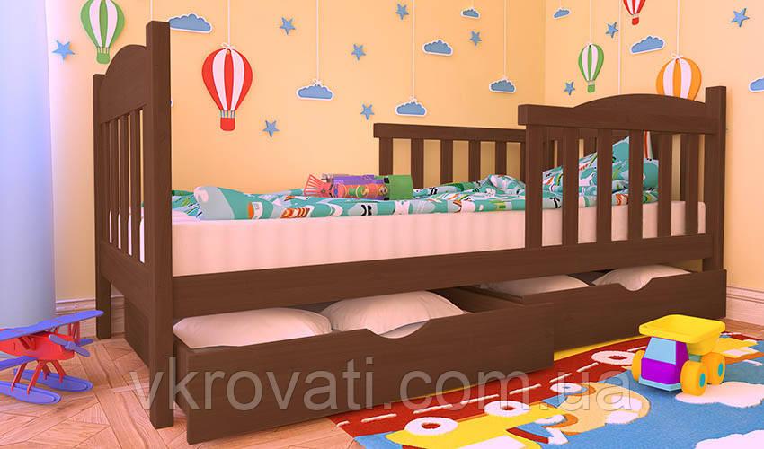 """Кровать детская """"Флави Люкс"""" из натурального дерева"""