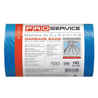 PRO service пакеты для мусора, 50х55 см, 35 л, 30 шт., синие
