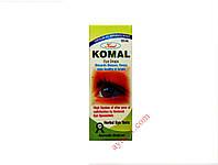 Гомепатические, аюрведические глазные капли с трифалой и пунарнавой, Комал / Komal Eye Drops Homeopathic