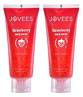 Очищающий гель для лица Земляника, Джовис  / Strawberry Face Wash, Strawberry, Jovees / 120 мл